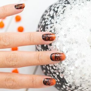 2/$20 color street nails pumpkin to talk about